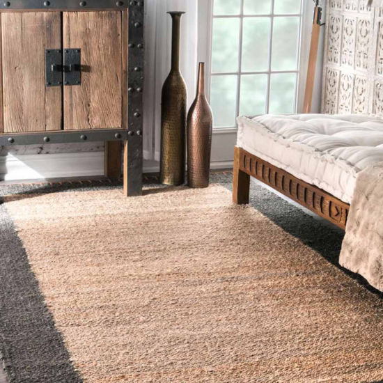 nuLoom Hand Woven Cameron Jute Rug