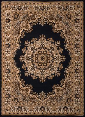 United Weavers Dallas Collection Floral Kirman Rectangular Rug