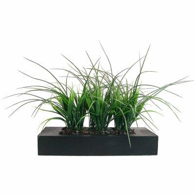 "Laura Ashley 14"" Tall Grass In Pot"