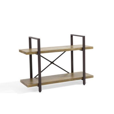 Danya B. Two Level Rustic Shelving Unit