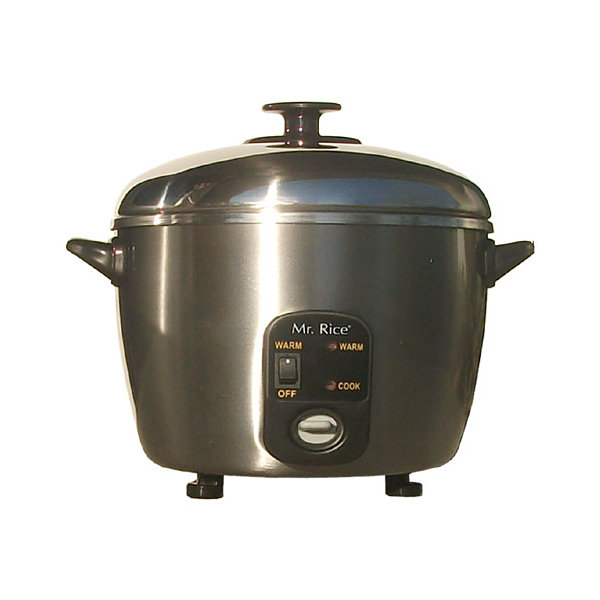 SPT SC-886: 3 Cups Stainless Steel Cooker & Steamer