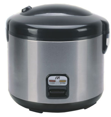 SPT SC-1202SS: 6 Cups Rice Cooker with Stainless Body