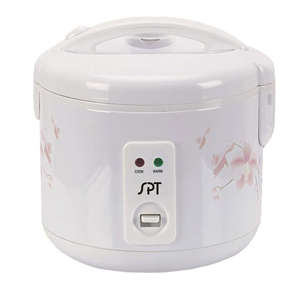 SPT SC-1813W: 10 Cups Rice Cooker