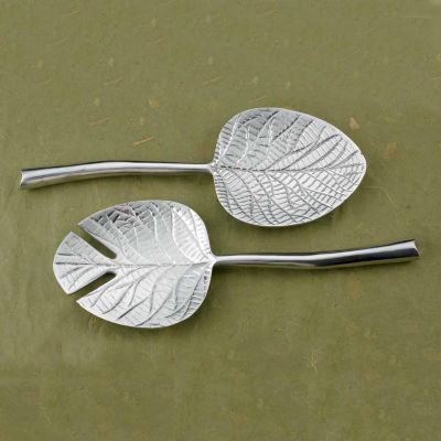 "St. Croix Trading Kindwer 12"" Dogwood Leaf Serving Set"