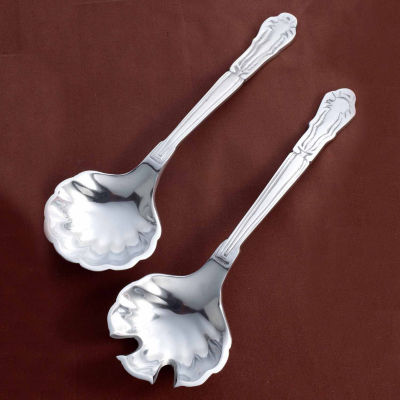 "St. Croix Trading Kindwer 14"" Cockle Shell Serving Set"