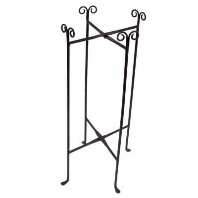 St. Croix Trading Kindwer Iron Floor Stand for Round Tub