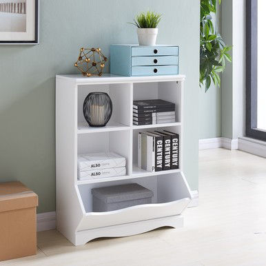 Danya B. Multi-Cubby White Storage Cabinet  sc 1 st  JCPenney & Danya B. Multi-Cubby White Storage Cabinet - JCPenney