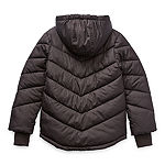 Arizona Little & Big Girls Hooded Heavyweight Puffer Jacket