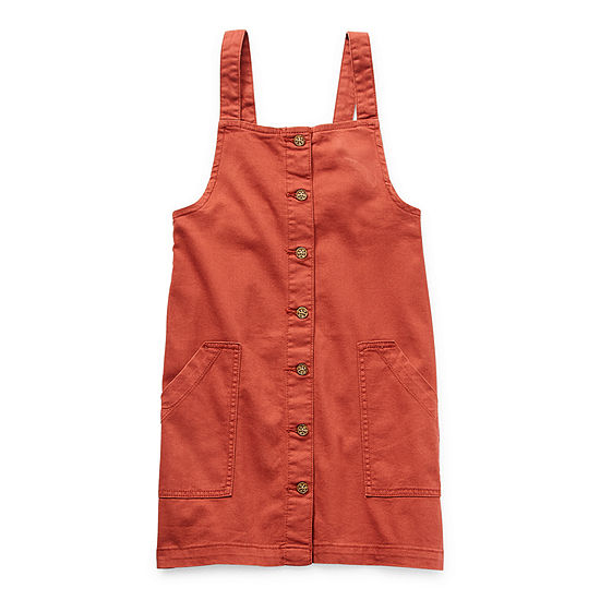 Arizona Little & Big Girls Sleeveless Jumper