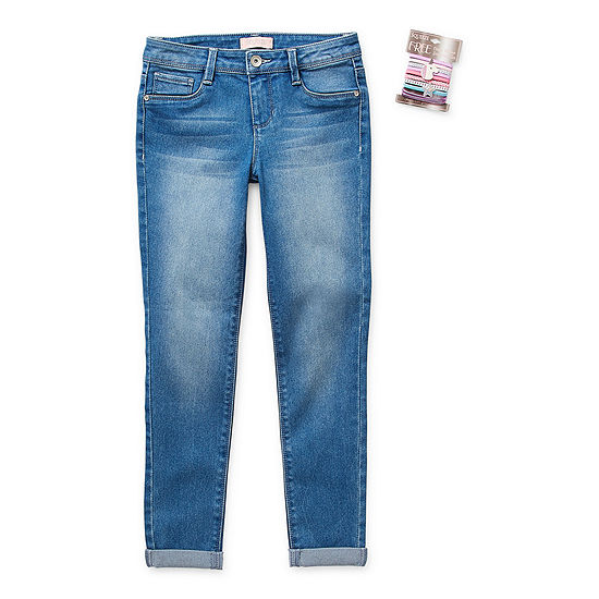 Blue Spice Big Girls Skinny Skinny Fit Jean