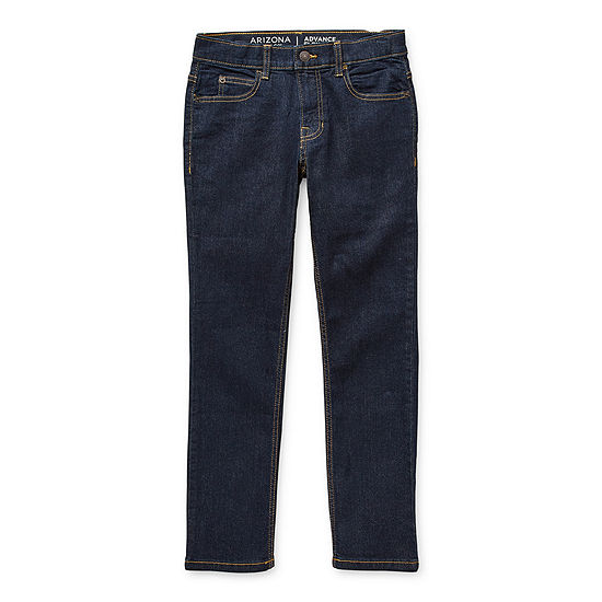 Arizona Flex Little & Big Boys Skinny Skinny Fit Jean