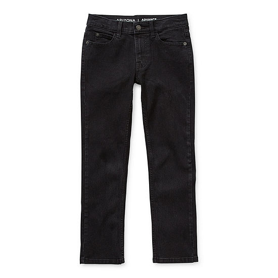 Arizona Flex Little & Big Boys Stretch Skinny Fit Jean