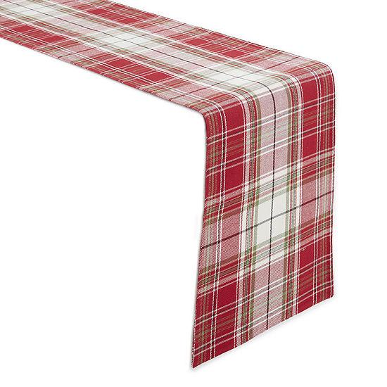 Homewear Tannon Plaid Table Runner