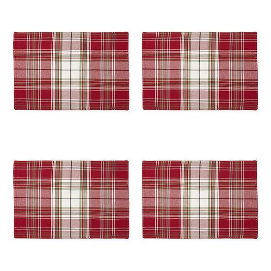 Homewear Tannon Plaid 4-pc. Placemat
