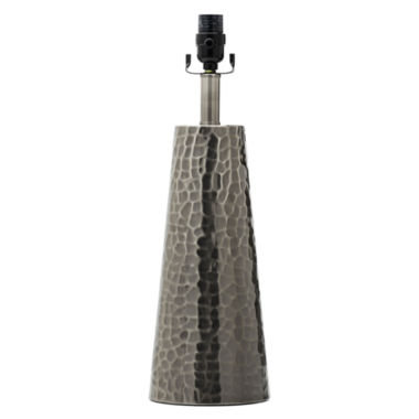JCPenney Home™ Possibilities Hammered Tapered Table Lamp Base