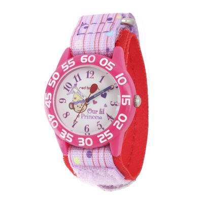 Red Balloon™ Girls Pink Princess Strap Watch