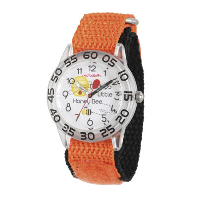 Red Balloon™ Boys Orange Bee Strap Watch