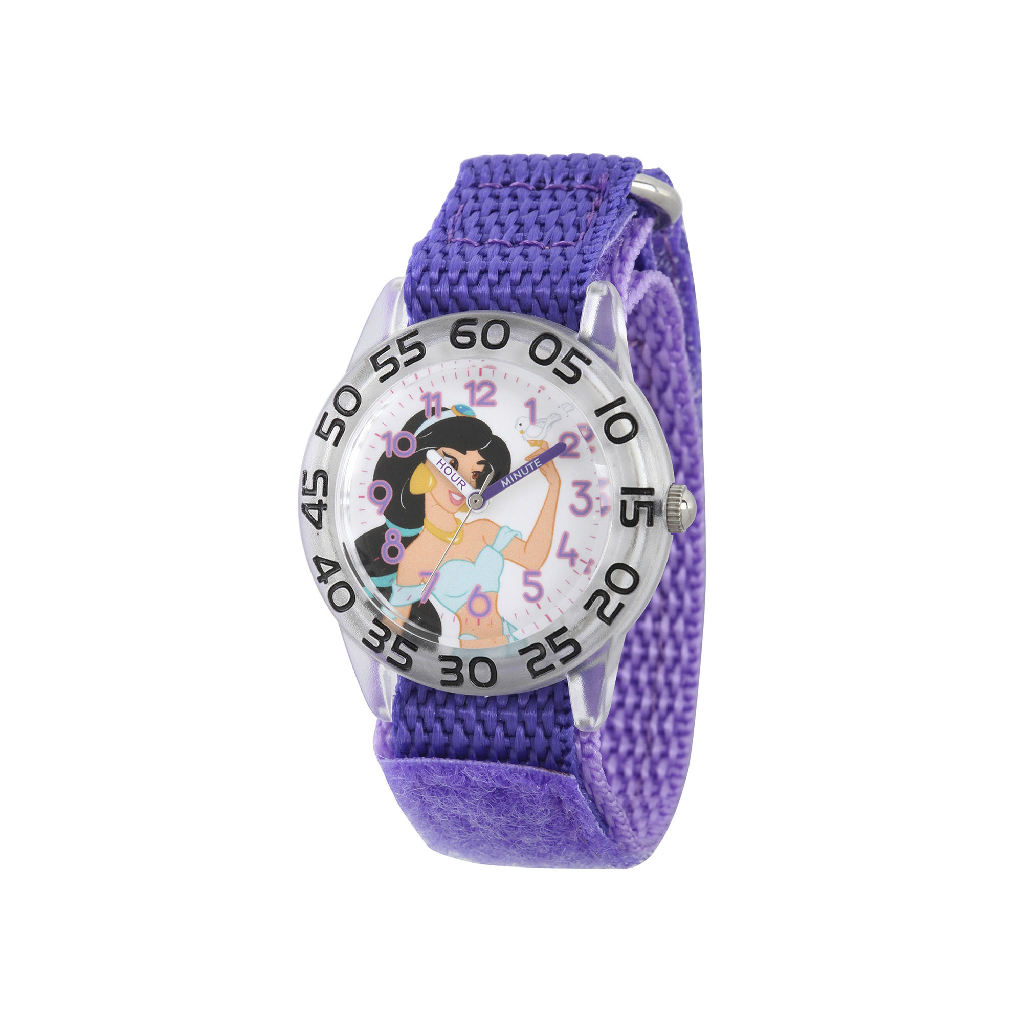 Disney Girls Purple Jasmine Strap Watch