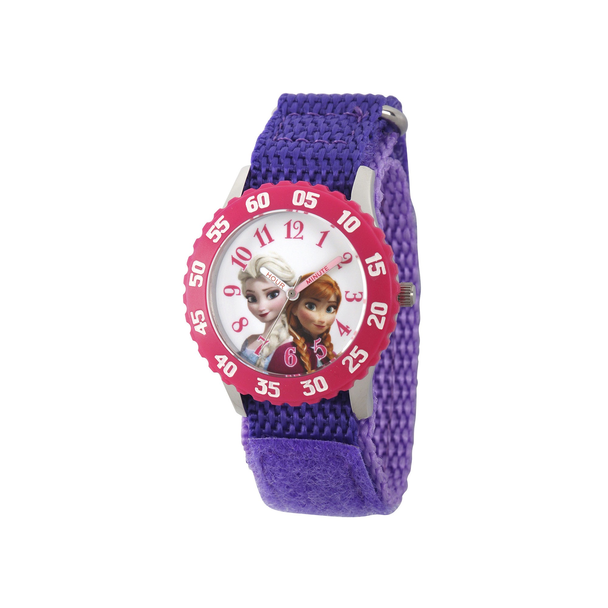 Disney Girls Purple Frozen Strap Watch