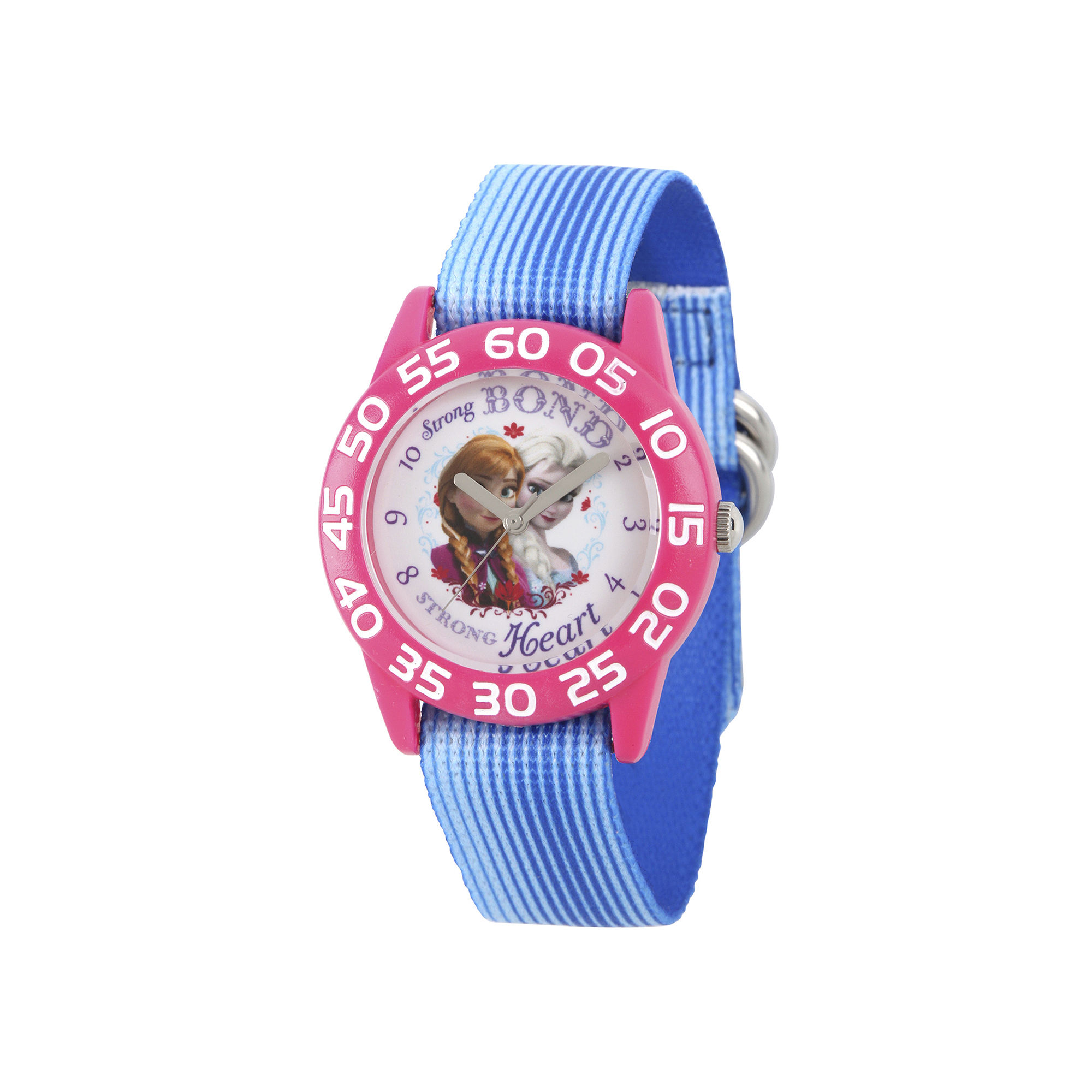 Disney Frozen Girls Blue Strap Watch