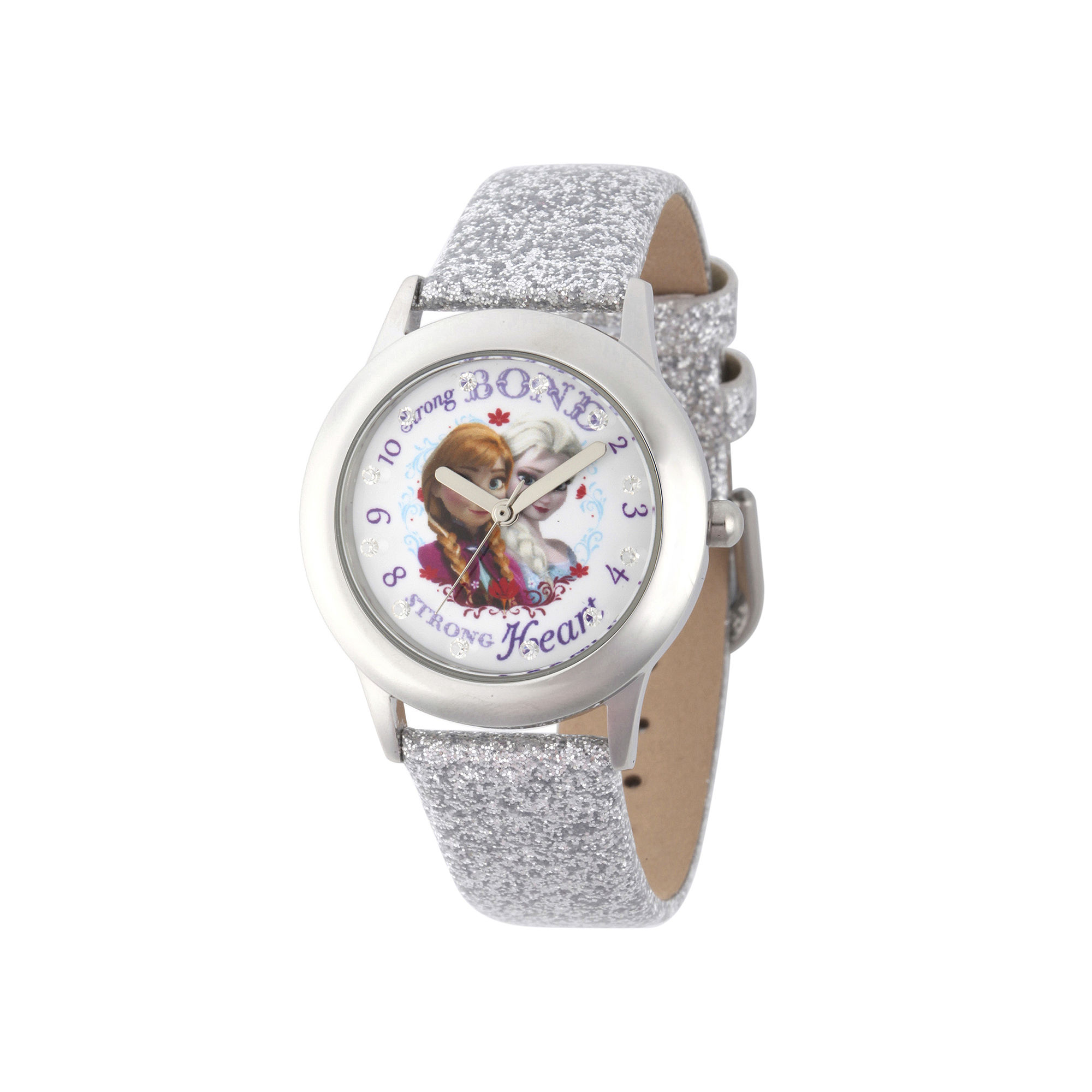 Disney Frozen Girls Silver Strap Watch