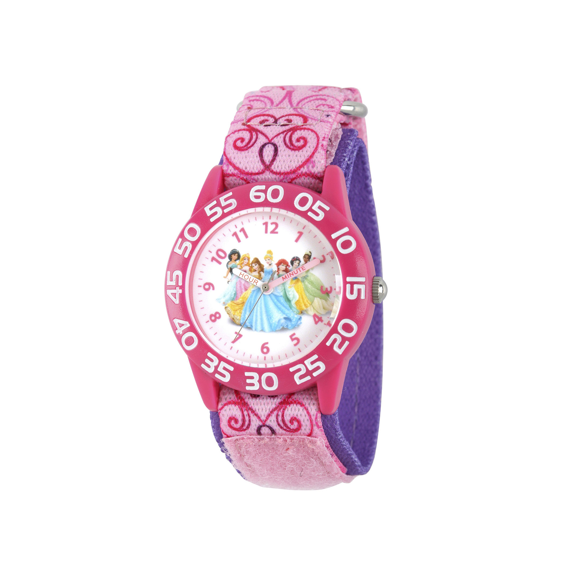 Disney Princess Girls Pink Strap Watch