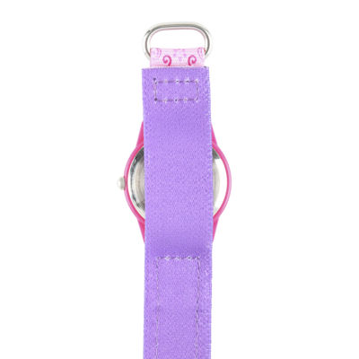 Disney® Princess Girls Pink Strap Watch