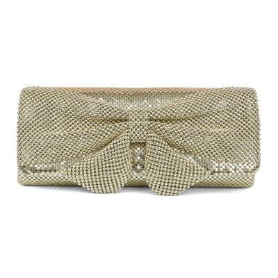 Gunne Sax by Jessica McClintock Mesh Bow Clutch