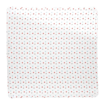 Trend Lab® Coral Triangles Deluxe Swaddle Blanket