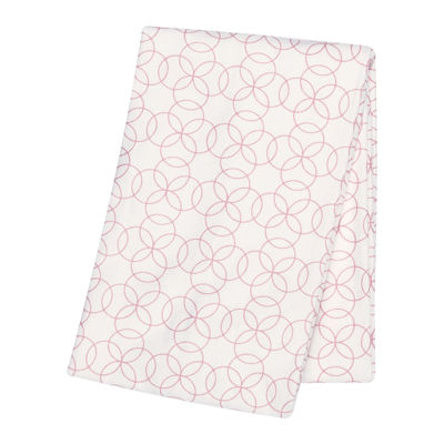 Trend Lab® Pink Circles Deluxe Swaddle Blanket