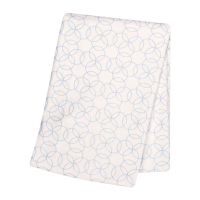 Trend Lab® Blue Circles Deluxe Swaddle Blanket