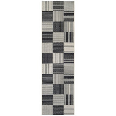 Couristan® Patchwork Indoor/Outdoor Runner Rug