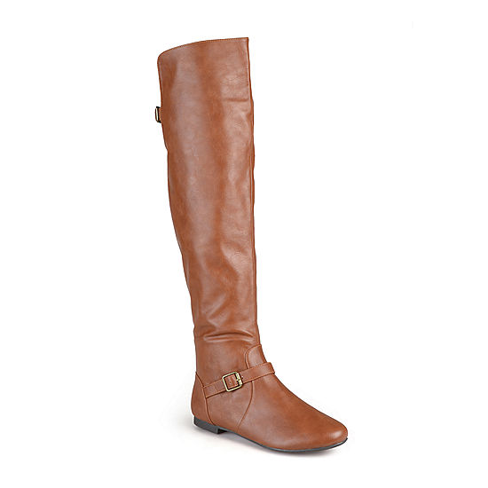 b085d2c0cf91 Journee Collection Loft Knee-High Riding Boots - Wide Calf - JCPenney
