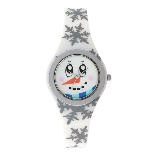 Mixit™ Womens White Strap Watch
