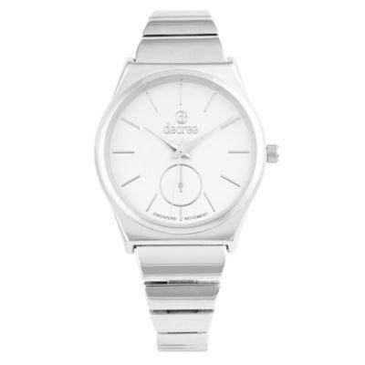 Decree Womens Strap Watch-Pt2583sl