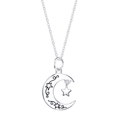 Footnotes Star Pendant Necklace