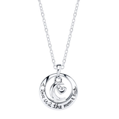 Footnotes Footnotes Womens Circle Pendant Necklace