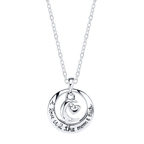 Footnotes Footnotes Womens Pendant Necklace