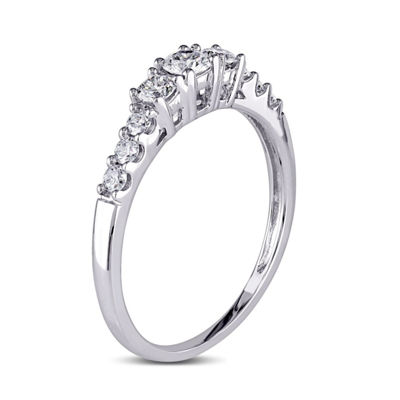 1/2 CT. T.W. Round White Diamond 14K Gold Engagement Ring