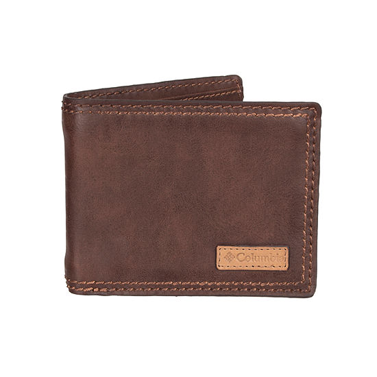 Columbia Patch Logo Passcase Wallet