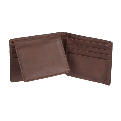 Columbia® RFID Patch Logo Passcase Wallet