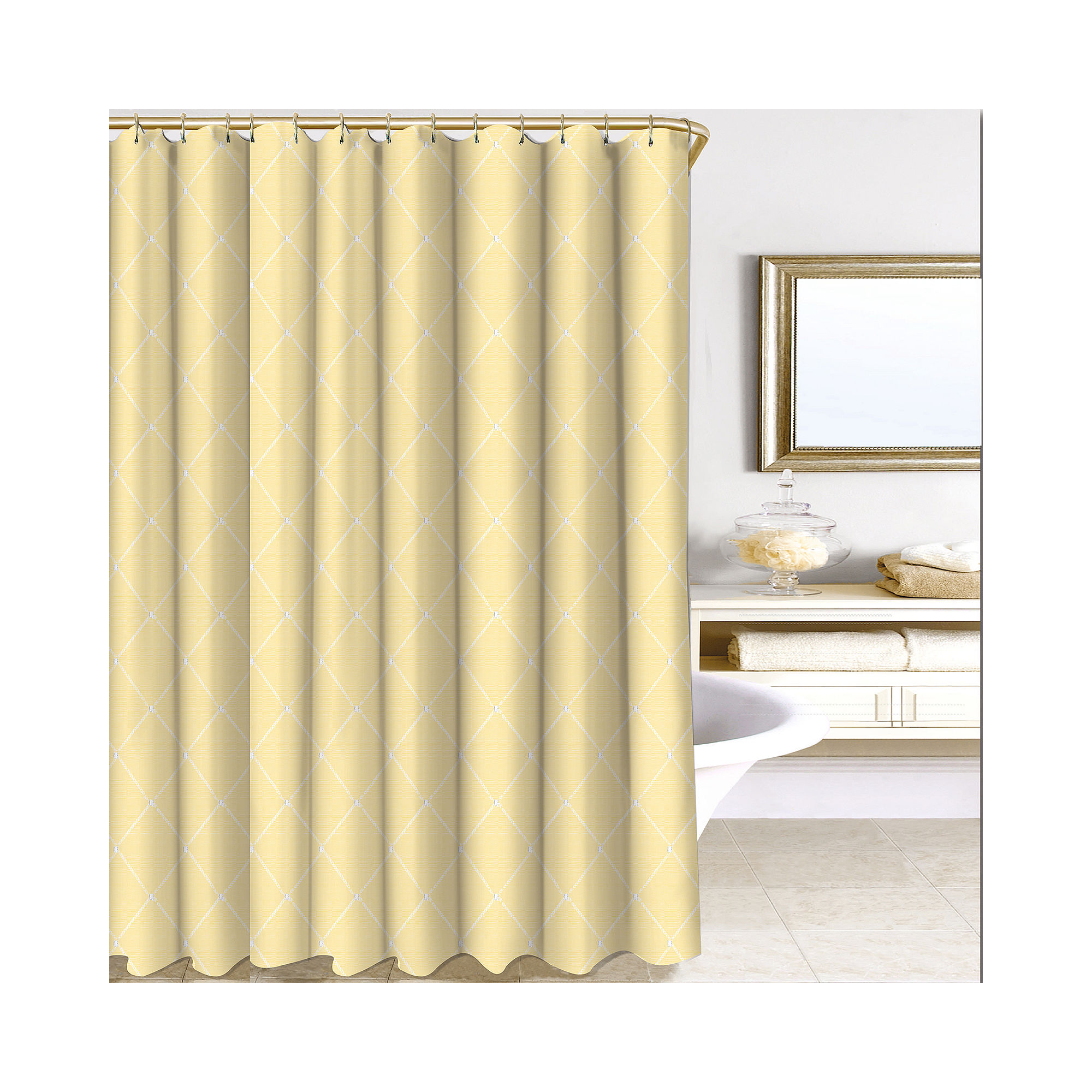 Wellington Shower Curtain