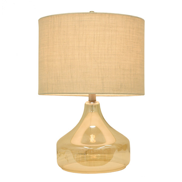 Décor Therapy Luster Glass Table Lamp