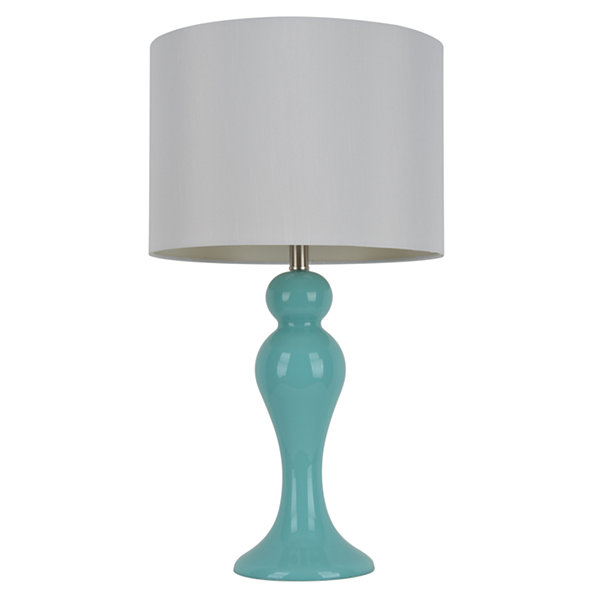 Décor Therapy Light Blue Table Lamp