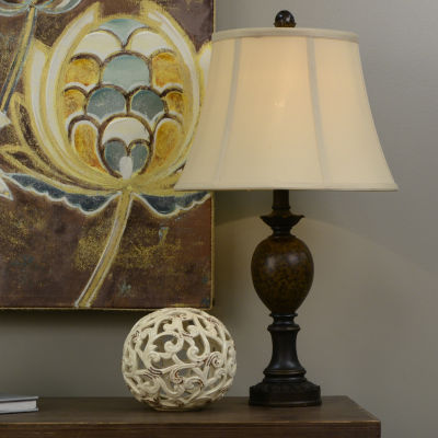 Décor Therapy Huntington Bronze Table Lamp