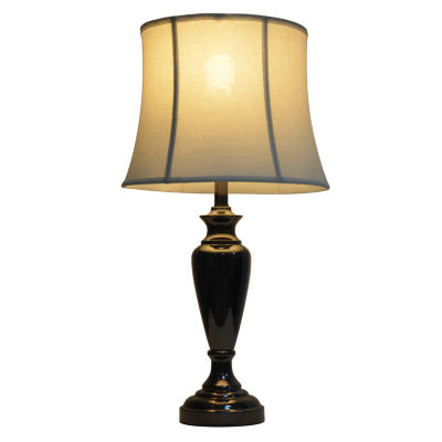 Décor Therapy Black Nickel Table Lamp
