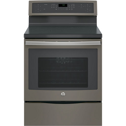 """GE® Profile™ Series 30"""" Free-Standing Convection Range with Induction"""