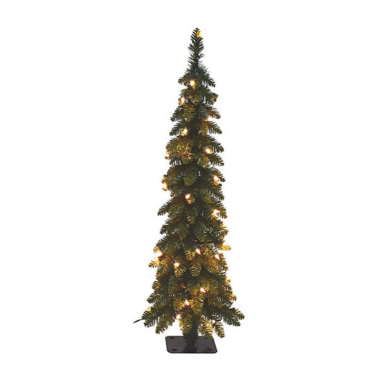 4 Foot Spruce Pre-Lit Christmas Tree