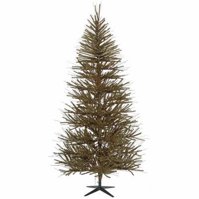 """7' x 46"""" Vienna Twig Medium Artificial Christmas Tree - Unlit"""