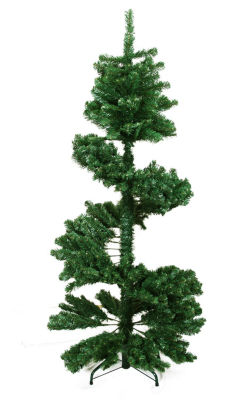 5.5' Spiral Pine Artificial Christmas Tree - Unlit